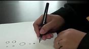 握笔姿势 正确握笔姿势-魔方,折纸,绘画学习-小雷视频