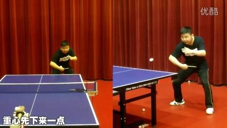 """《全民学乒乓公开课》第3.41期:反手弧圈球核心""""腰部""""_乒乓球教学视频教程"""