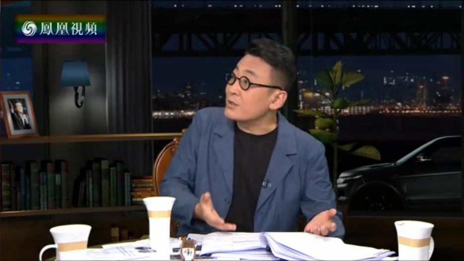 中国留学生演讲引争议 窦文涛:未认识到中美复杂性