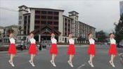 明月山玉盘广场舞《只欠秋天》