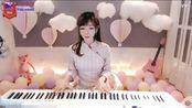 动听!美女钢琴弹奏金粉世家主题曲《暗香》纯音乐