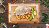 老厨师这道传统名菜板栗烧鸡为何如此美味?现场教你做,学习了