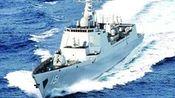 """中俄主力战舰""""亮剑""""日本海"""