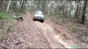森林越野考验,JEEP牧马人,大切诺基,丰田普拉多