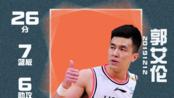 渐入佳境,郭艾伦全场26分7篮板6助攻 | 辽宁111-94上海