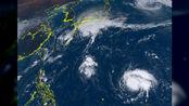 台风博罗依猛烈爆发 清晰风眼迅速打开 权威预测 直奔超强台风