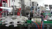 直线灌装压盖一体机 双头灌装机 圆瓶灌装机 全自动灌装压盖机