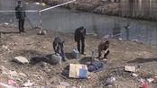 案发现场:警察发现男尸,头部大片血迹,还是高位截肢