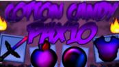 Minecraft Cotton Candy Purple Blue Pax10 Texture Pack MC Resource Pack 1.8.9