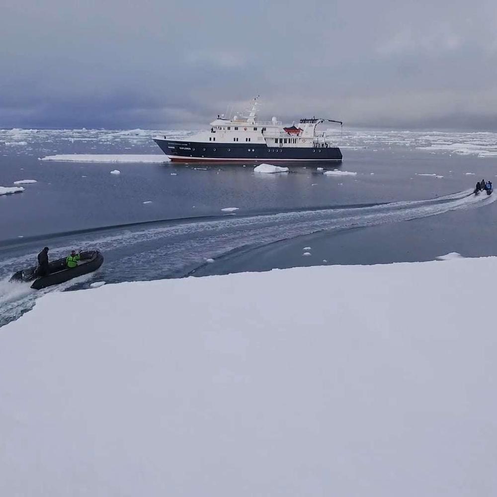 南极洲的纯白世界
