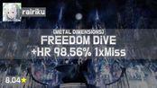 Live! | Rairiku | xi - FREEDOM DiVE [METAL DIMENSIONS] +HR (Cherry Blossom, 8.04
