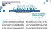 ICE-MAKING SUBMARINES? 造冰潛艇(1)
