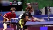 回顾:乒乓球亚锦赛决赛刘诗雯夺冠,打球的时候心态非常不错