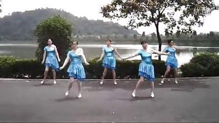 浙江仙女湖舞队 广场舞【情歌天下唱】