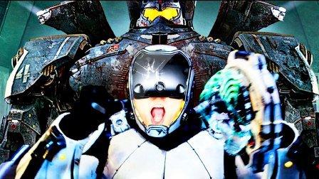 【屌德斯解说】 VR模拟环太平洋机甲 真人体验在驾驶舱内操控巨型环太平洋机器人与怪兽战斗!