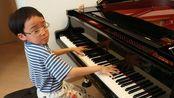 【钢琴】匈牙利2号狂想曲 第二部分- Jonah Ho (8岁)Hungarian Rhapsody No.2 of Liszt (Friska)