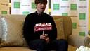 20140111 李敏鎬【SEMIR 點亮春日】傳媒採訪片段(CUT)