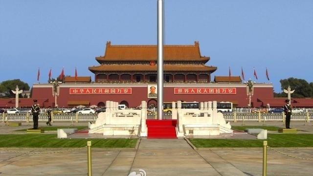 中华人民共和国国歌升旗—在线播放