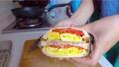 day1:早餐~三明治,午餐~清真鸦片鱼+凉拌黄瓜+西红柿鸡蛋汤 day2:早餐~白馒头+酸辣土豆丝+炒鸡蛋,午餐~韩式辣鸡腿,鸡爪+辣炒包菜
