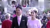 懒理风波!刘强东夫妇出席英国皇室婚礼 章泽天被错认日本公主