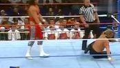1995年超级明星秀!HHH夏季狂潮大赛 对战鲍勃·霍利