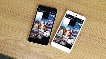 「新科技」情怀PK发烧 坚果手机红米note2对比评测