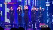 【皇冠T-ara】Sugar Free 藏青色连体衣,唯宝蓝是连体短裤 (20140913 MBC Music Core现场版)