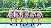 大众广场舞《中华全家福》秧歌舞风格,男女对唱舞曲