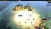 战争策略游戏《文明5》,导弹摧毁城市,太震撼了!