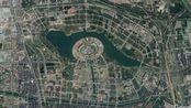 从卫星地图看河南郑州,GDP破万亿的特大城市,城市规划太好看了