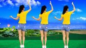 健身操广场舞《红莓花儿开》,动感活力,好听(牛仔裙)