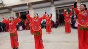 滁州市定远县张桥镇陈户村美女们表演金彩的舞蹈,主啊我想对你说,广场舞