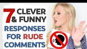 英字179#What to respond when someone is RUDE - Funny English Comebacks for Insults