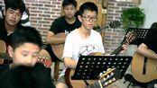 阳光吉他10岁学生课堂练习《皇之燕》2019 九级考级曲目