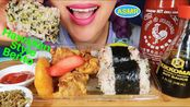 【curie】组作30496;HAWAIAN STYLE BENTO EATING SOUND MUKANG|夏威夷风格盒饭吃播(2020年3月8日19时1分)