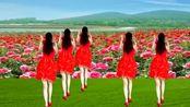 广场舞《玫瑰花儿开》热门神曲,动感欢快,鲜艳美丽只等你来摘!