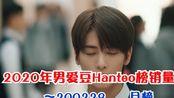 防弹强势登顶,sf9突破自己 2020年男爱豆Hanteo榜销量月榜排名~200229