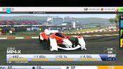 真实赛车3官方速度机器,蒙扎赛道第一视角1分09秒,迈凯轮MP4-X。