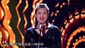 中国达人秀:女民警花式演唱《青春舞曲》,听得蔡国庆不住鼓掌