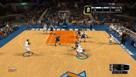 【新人奖第五季】【NBA叶子娱乐解说】NBA2K15前作(MC)常规赛 爵士VS尼克斯