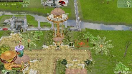 经典老游戏24期侏罗纪公园:基因计划重拾经典恐龙模拟经营