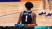 杜克新人中锋Vernon Carey对阵雪城26分17篮板