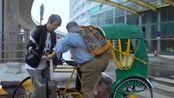 欢乐喜剧人:孙越坐三轮车,瞬间变两轮,这段要笑疯了