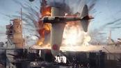 决战中途岛:若不是走投无路,谁又愿意俯冲轰炸?这段戏看了五遍
