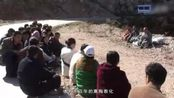 大悲寺行脚僧人经过五台山, 附近学佛的居士都赶来迎接
