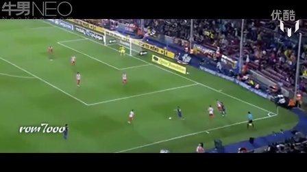 精选梅西2011-2012赛季巴萨10佳进球