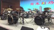 邳州六岁天才小鼓手沈靖淇-春晚彩排 (1)