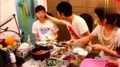 张丹峰心酸想过父亲节,儿子装傻,女儿专心吃鱼!洪欣毫不理会!