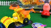 小猪佩奇玩赛尔号战神召唤爆旋战车变形玩具-雷伊
