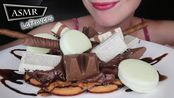 【saltedcaramel】:大华夫饼加巧克力剩饭作为配料吃的声音不说话(2019年8月22日23时2分)